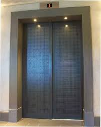 Spray on Metals Lift doors